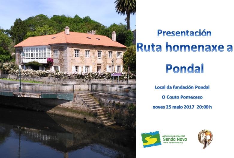 presentación ruta Pondal