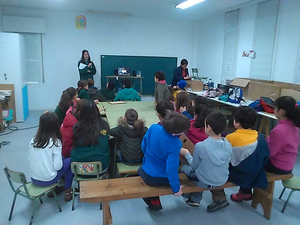Escola Ambiental Sesión aula