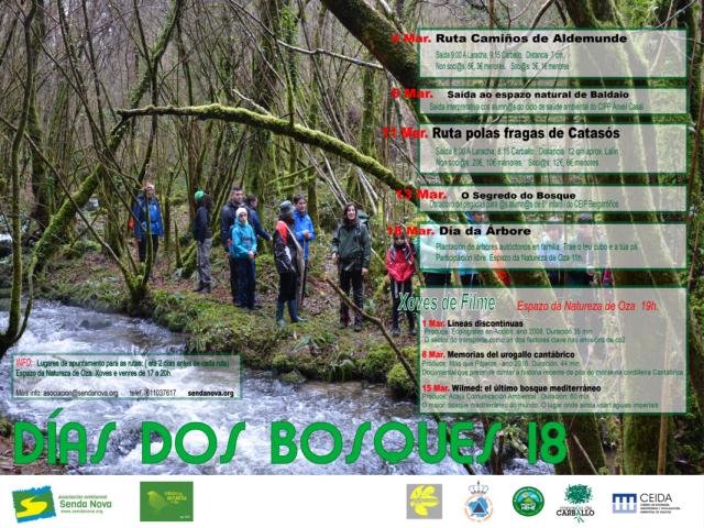 cartel días dos bosques 18