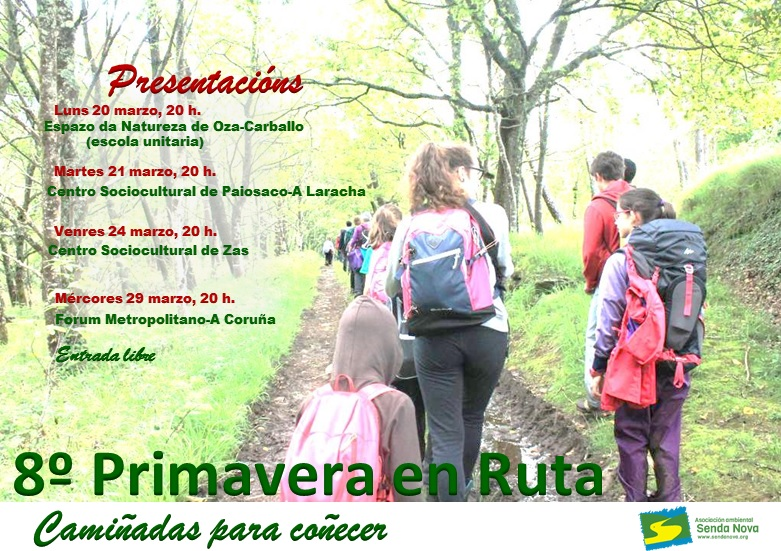 cartel 8 primavera en ruta