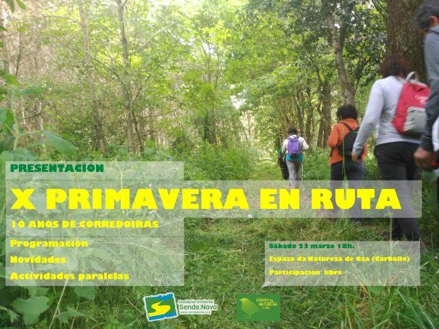 presentacion X PRIMAVERA EN RUTA