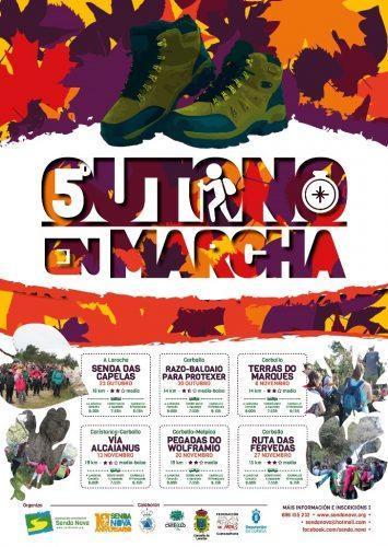 5º Outono en Marcha (cartaz)