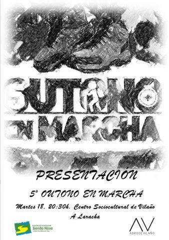 Presentación 5º OUTONO EN MARCHA en Vilaño (A Laracha)