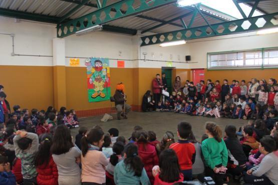 III Inverno Ancestral: Apalpador na escola (2015)