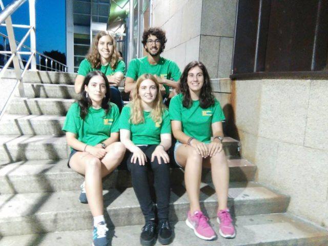 Mozas e mozo de Senda Nova que viaxarán a Eslovaquia