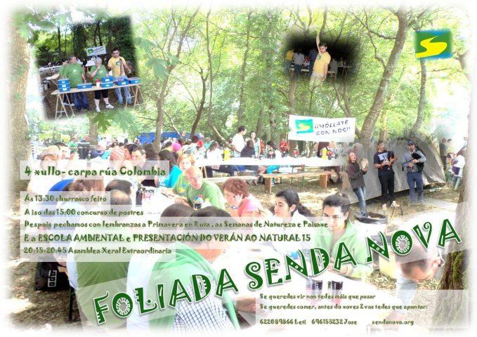Foliada 2015 de Senda Nova