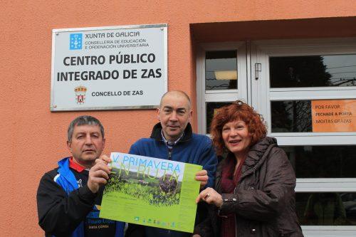 O CPI de Zas tamén Pisa Forte pola V Primavera en Ruta
