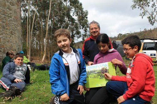 O Colexio de Agralada Pisa Forte pola V Primavera en Ruta