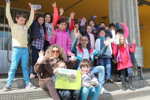 O colexio Otero Pedrayo da Laracha Pisa Forte pola V Primavera en Ruta