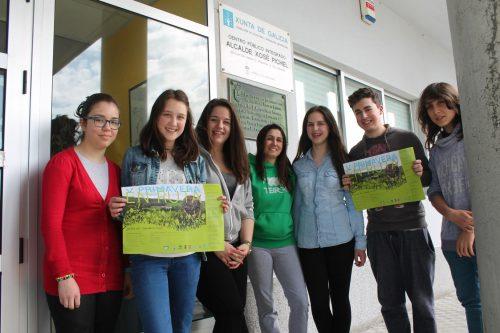 O CPI Xosé Pichel de Coristanco Pisa Forte pola V Primavera en Ruta