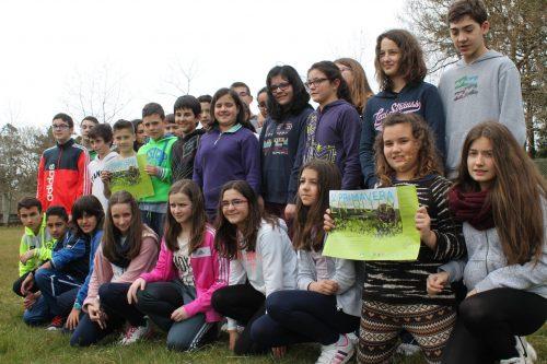 O IES Monteneme Pisa Forte pola V Primavera En Ruta